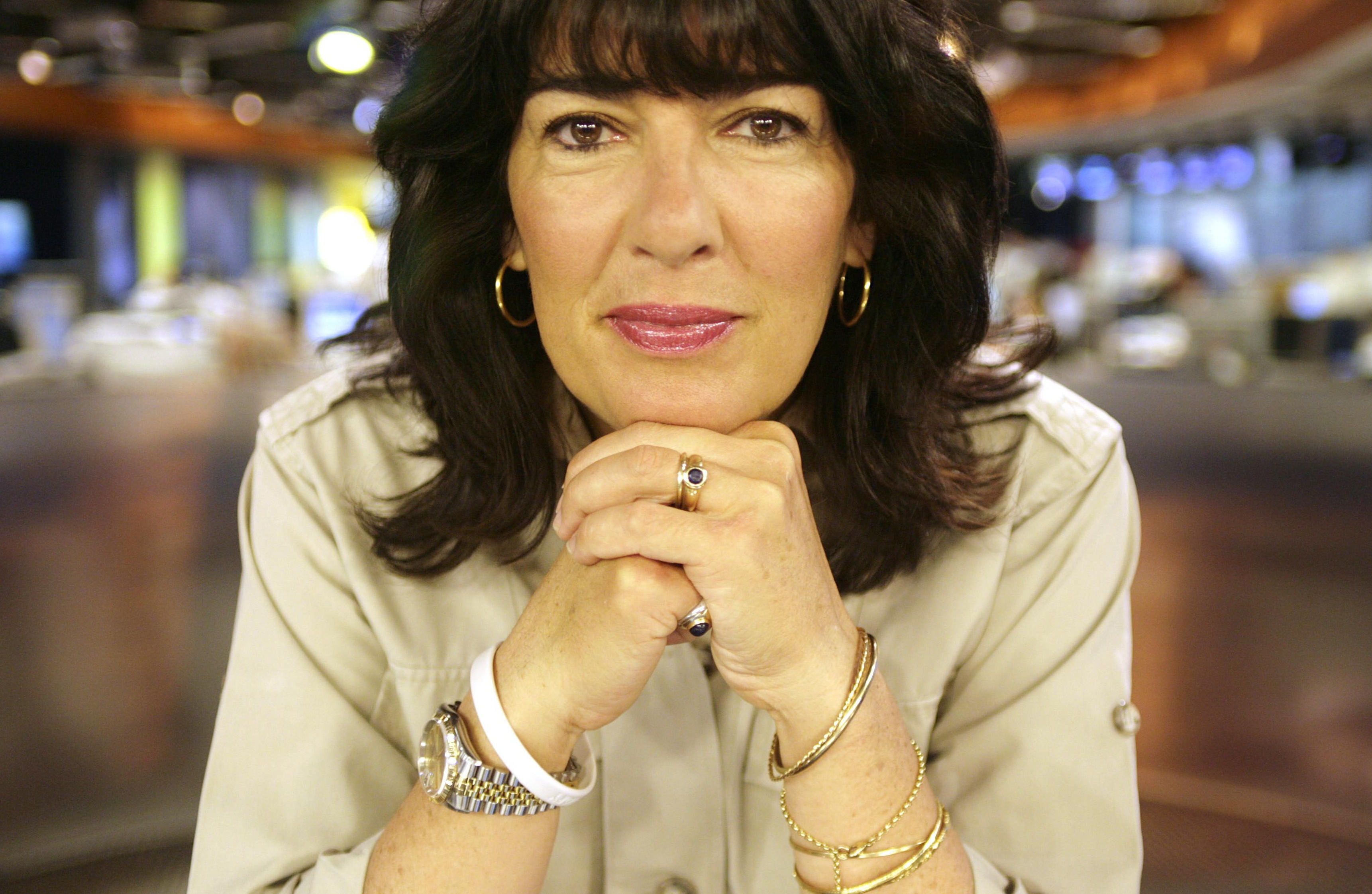 Christiane Amanpour, CNN's chief international correspondent at CNN's london studio. (Photo by Avery Cunliffe/Photoshot/Getty Images)